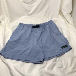 Columbia hiking shorts adjustable nylon size med